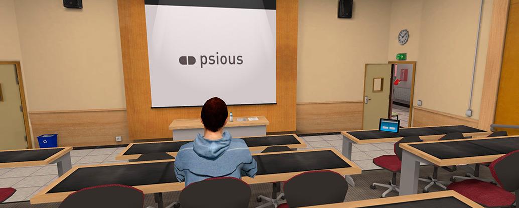Aula Realidad Virtual Psicóloga Claudia Núñez