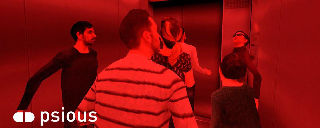Ascensor Realidad Virtual Psicóloga Claudia Núñez
