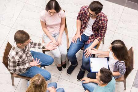 grupo en tratamiento Psicóloga Claudia Núñez